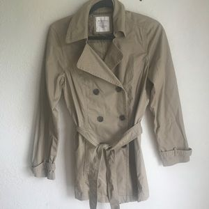 sonoma small light trench with tie